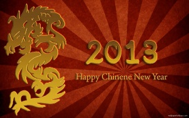 Chinese New Year 2013