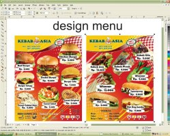 design btd menu